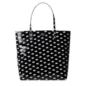 Kate Spade Daycation Bon Shopper tote small swans